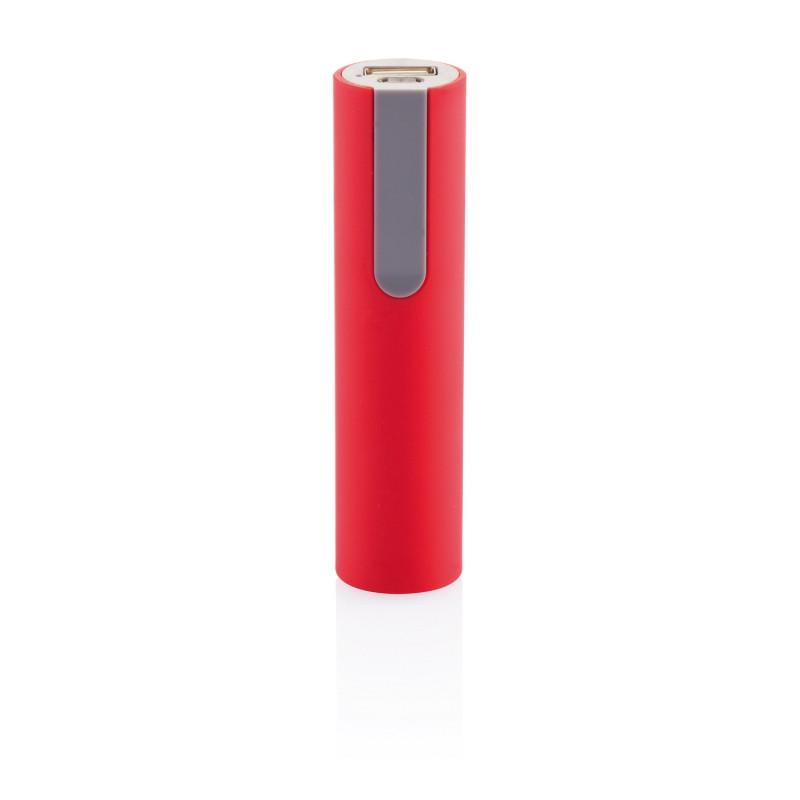 Зарядное устройство 2200 mAh, красный, красный; серый, , высота 10 см., диаметр 2,5 см., P324.054
