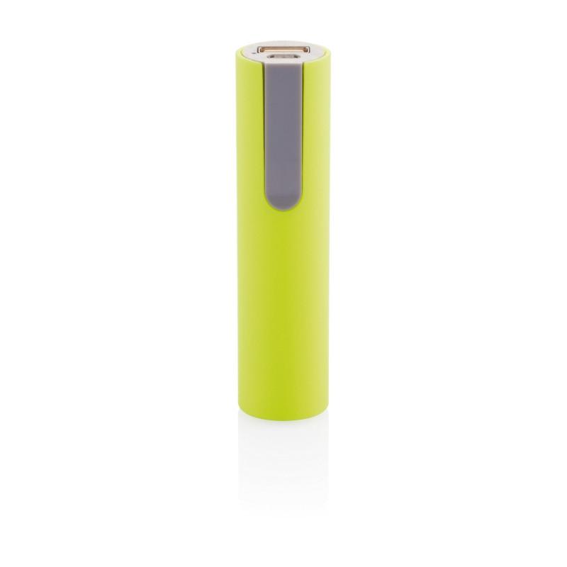 Зарядное устройство 2200 mAh, салатовый, салатовый; серый, , высота 10 см., диаметр 2,5 см., P324.057