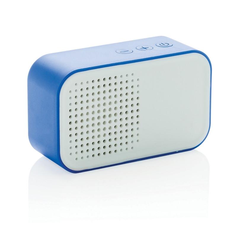 Беспроводная колонка Melody, синяя, синий, Длина 3 см., ширина 5 см., высота 8,3 см., P326.145