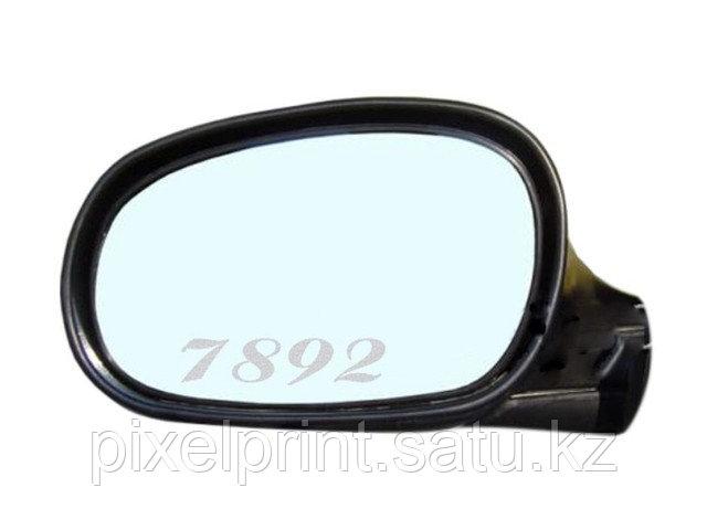 Лазерная гравировка зеркал автомобиля