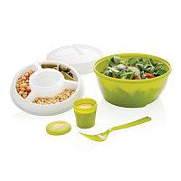 Контейнер Salad2go, зеленый, Длина 16 см., ширина 16 см., высота 11,5 см., P261.427