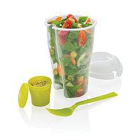 Набор Salad2go, зеленый, Длина 10,2 см., ширина 10,2 см., высота 19 см., P261.597