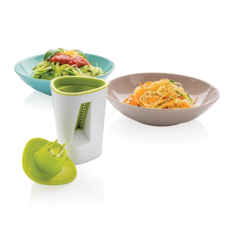 Нож для овощей, белый; зеленый, Длина 9 см., ширина 9 см., высота 15 см., диаметр 8,6 см., P262.777