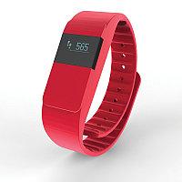 Фитнес-браслет Keep Fit, красный, красный, Длина 26,5 см., ширина 2 см., высота 1 см., P330.754