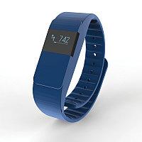 Фитнес-браслет Keep Fit, синий, синий, Длина 26,5 см., ширина 2 см., высота 1 см., P330.755