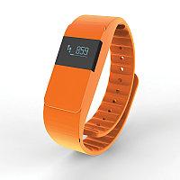 Фитнес-браслет Keep Fit, оранжевый, оранжевый, Длина 26,5 см., ширина 2 см., высота 1 см., P330.758, фото 1