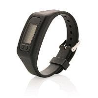 Фитнес-браслет Keep fit, черный, Длина 1,4 см., ширина 2,7 см., высота 25 см., P410.551