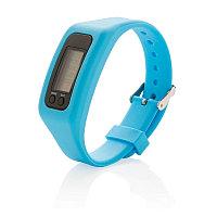 Фитнес-браслет Keep fit, синий, Длина 1,4 см., ширина 2,7 см., высота 25 см., P410.555
