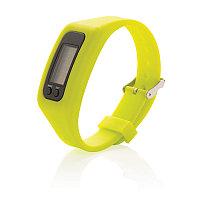 Фитнес-браслет Keep fit, салатовый, Длина 1,4 см., ширина 2,7 см., высота 25 см., P410.557