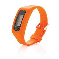 Фитнес-браслет Keep fit, оранжевый, Длина 1,4 см., ширина 2,7 см., высота 25 см., P410.558