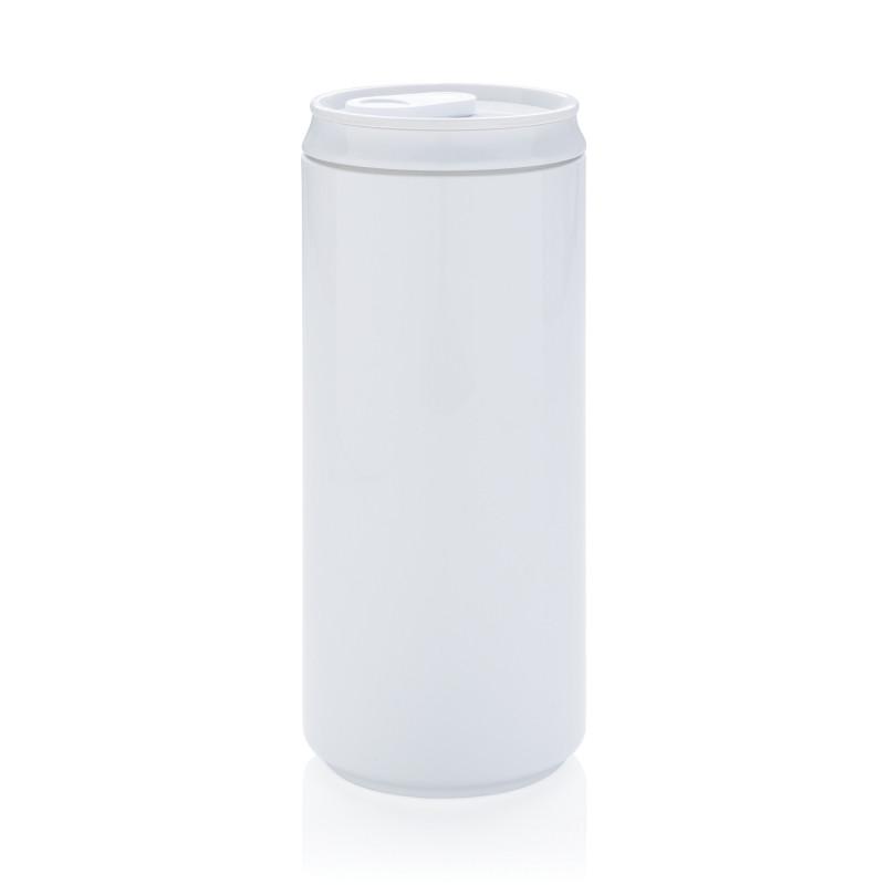 Банка Eco, белый, белый, , высота 14,8 см., диаметр 6,5 см., P436.533