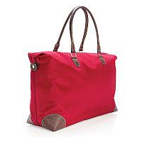 Спортивная сумка, красный, Длина 67 см., ширина 18 см., высота 37 см., P707.044