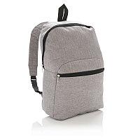Рюкзак Classic, серый, Длина 37 см., ширина 26 см., высота 12 см., P760.022, фото 1