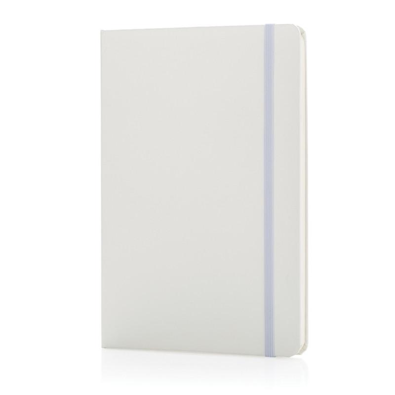 Блокнот для записей Basic в твердой обложке, А5, белый, Длина 1,3 см., ширина 14,5 см., высота 21 см.,