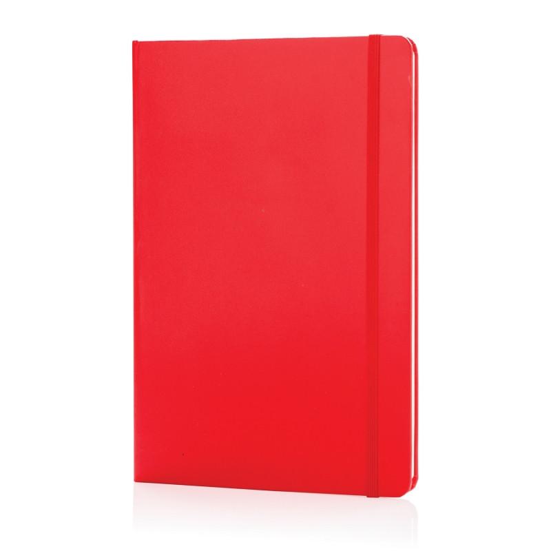 Блокнот для записей Basic в твердой обложке, А5, красный, Длина 1,3 см., ширина 14,5 см., высота 21 см.,