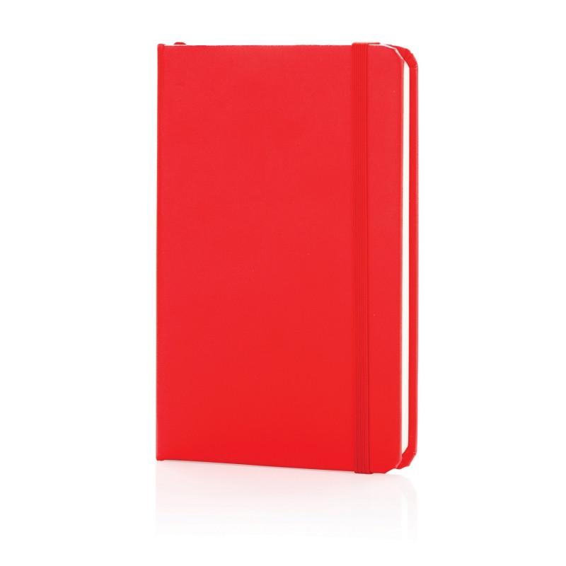Блокнот для записей Basic в твердой обложке, А6, красный, Длина 91 см., ширина 1,3 см., высота 14,2 см.,