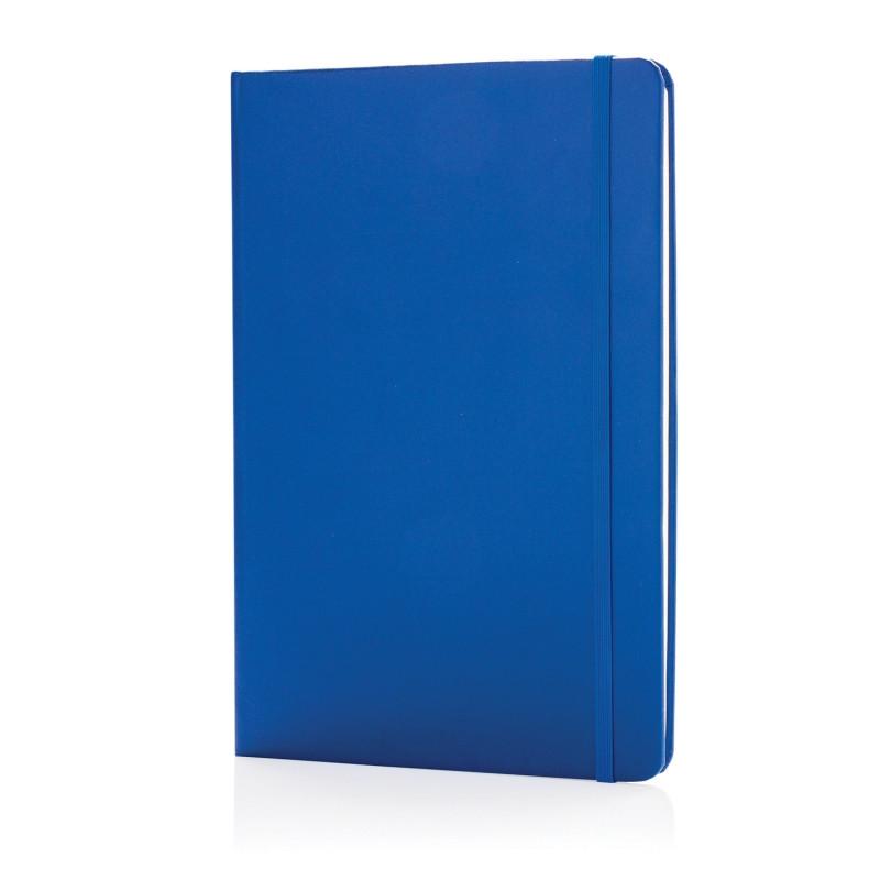 Блокнот Basic в твердой обложке, А5, синий, Длина 1,3 см., ширина 14,5 см., высота 21 см., P773.239
