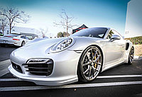 Обвес TECHART Aerokit I на Porsche 911 Turbo / S (991), фото 1