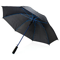 """Зонт-трость из стекловолокна, 23"""", синий; черный, , высота 81 см., диаметр 103 см., P850.045"""
