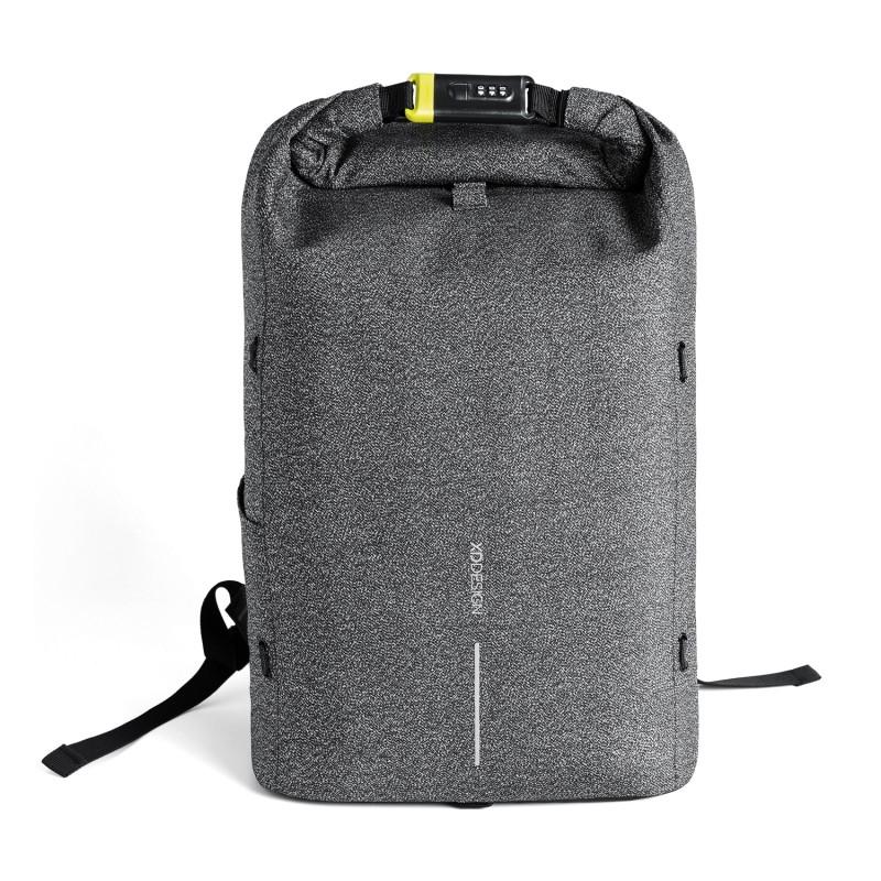 Рюкзак Urban с защитой от карманников, серый, серый, Длина 31,5 см., ширина 14,5 см., высота 46 см., P705.642