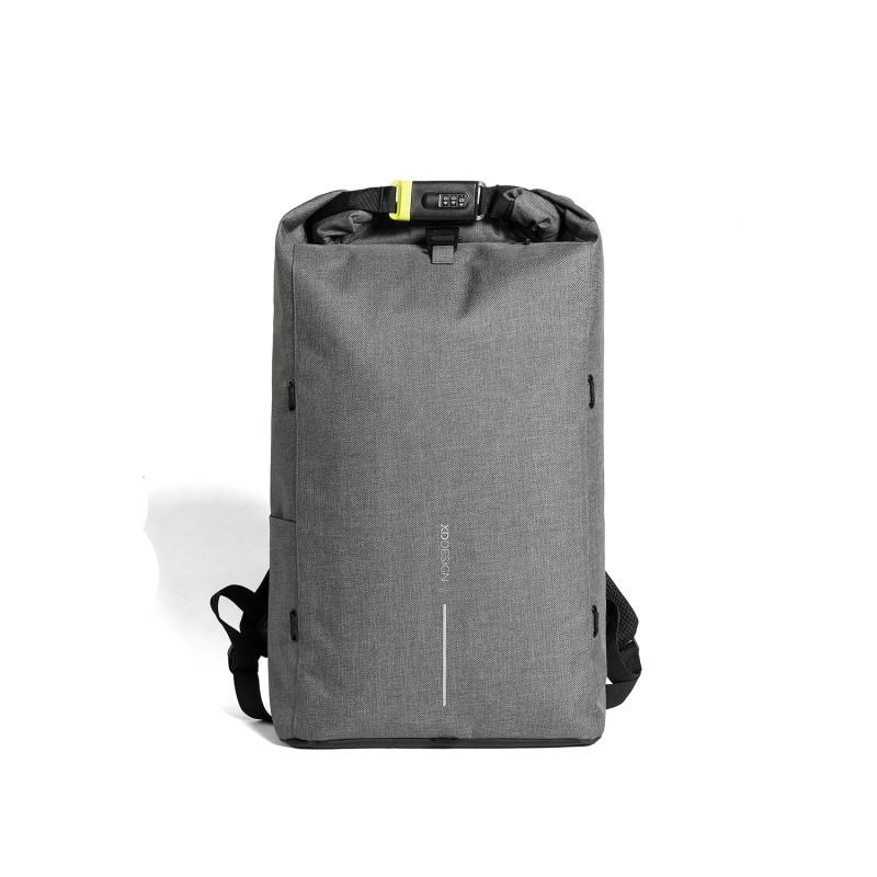 Рюкзак Urban Lite с защитой от карманников, серый, серый, Длина 31,5 см., ширина 14,5 см., высота 46 см.,