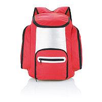 Рюкзак-холодильник, красный, красный; серебряный, Длина 40 см., ширина 32 см., высота 16,5 см., P733.184