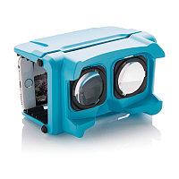 Складные очки Virtual reality, синий, синий, Длина 5,5 см., ширина 9 см., высота 14,5 см., P330.805