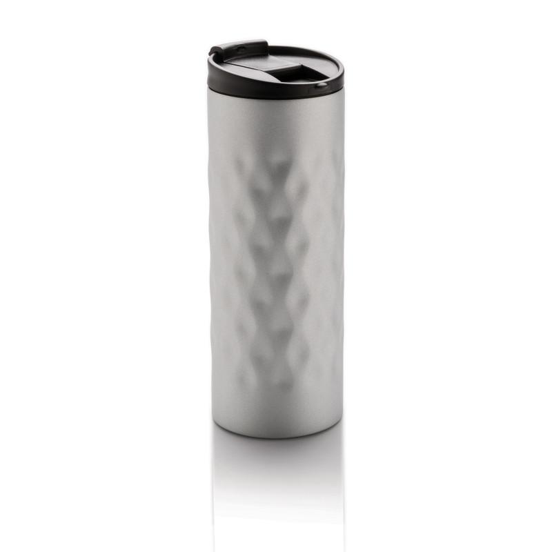 Термокружка Geometric, 350 мл, серебряный, серебряный, , высота 19 см., диаметр 6,9 см., P432.012