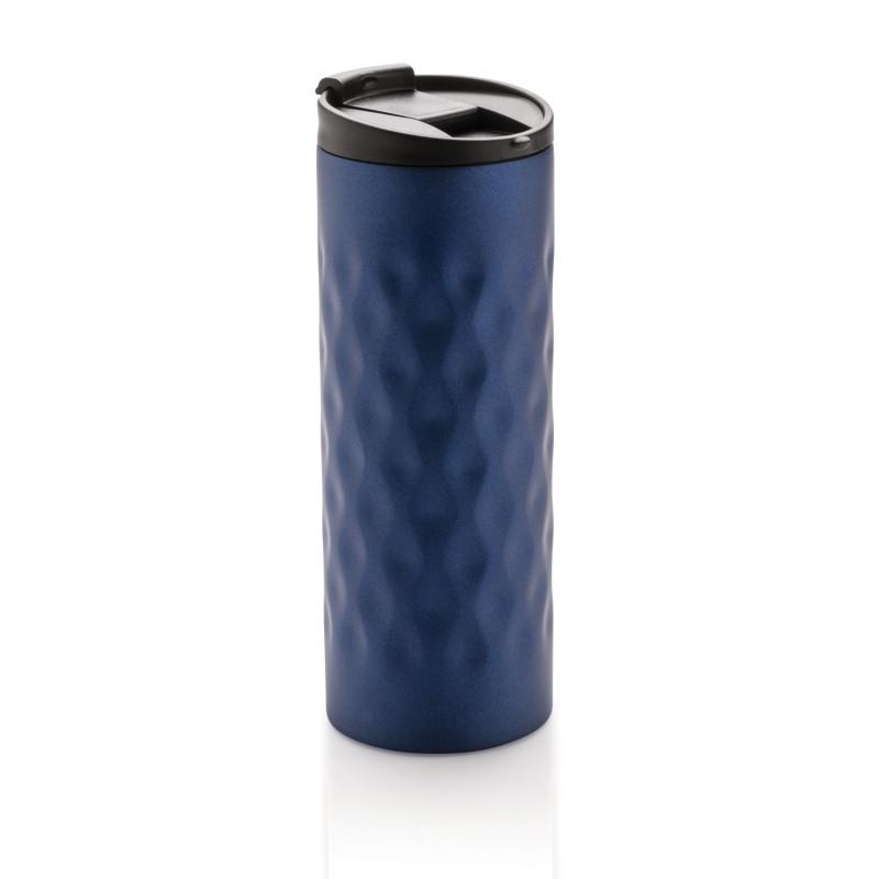 Термокружка Geometric, 350 мл, синий, синий, , высота 19 см., диаметр 6,9 см., P432.015
