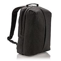 Рюкзак Smart, черный, черный, Длина 16 см., ширина 30 см., высота 45 см., P732.041, фото 1