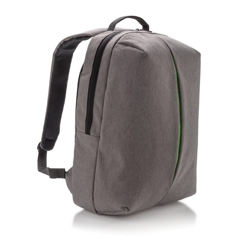 Рюкзак Smart, серый, серый; зеленый, Длина 16 см., ширина 30 см., высота 45 см., P732.042