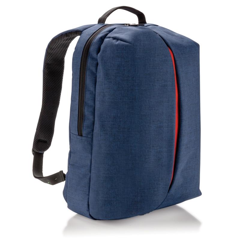 Рюкзак Smart, синий, синий; оранжевый, Длина 16 см., ширина 30 см., высота 45 см., P732.045