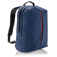 Рюкзак Smart, синий, синий; оранжевый, Длина 16 см., ширина 30 см., высота 45 см., P732.045, фото 1