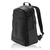 Рюкзак для ноутбука Power с USB-портом, черный, Длина 16 см., ширина 32 см., высота 47 см., P732.061