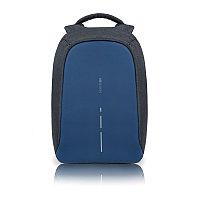 Рюкзак Bobby Compact с защитой от карманников, темно-синий, синий, Длина 28 см., ширина 14 см., высота 39 см.,