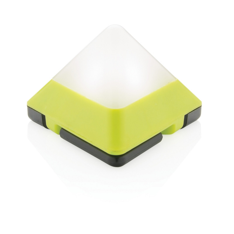Светильник Triangle, зеленый, салатовый, Длина 4,6 см., ширина 7 см., высота 7 см., P513.487