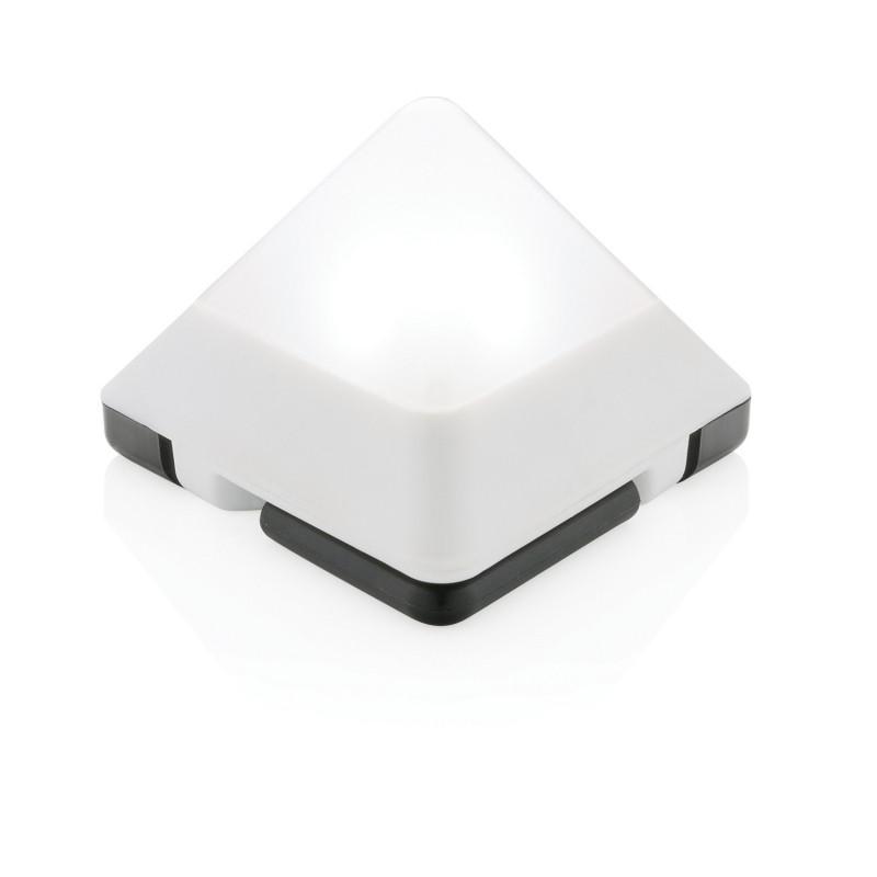 Светильник Triangle, белый, белый, Длина 4,6 см., ширина 7 см., высота 7 см., P513.483
