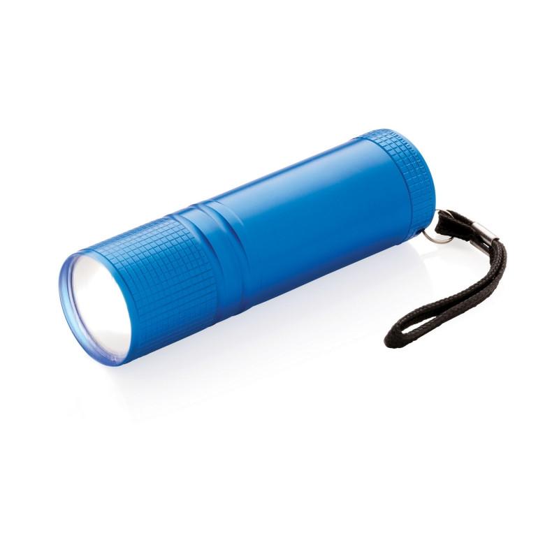 Фонарик COB, синий, синий, Длина 2,5 см., высота 8,5 см., диаметр 2,4 см., P513.825