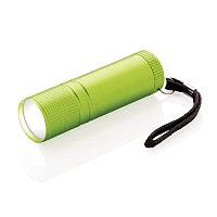 Фонарик COB, зеленый, зеленый, Длина 2,5 см., высота 8,5 см., диаметр 2,4 см., P513.827