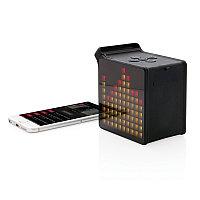 Колонка с дисплеем, 5W, черный, Длина 11 см., ширина 6,5 см., высота 11 см., P326.921