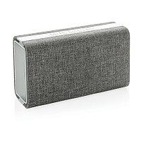 Колонка с зарядным устройством Vogue , серый, Длина 11 см., ширина 20 см., высота 7 см., P326.842