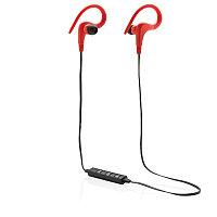 Беспроводные наушники Workout, красный, красный, Длина 73 см., ширина 1 см., высота 3,5 см., P326.254