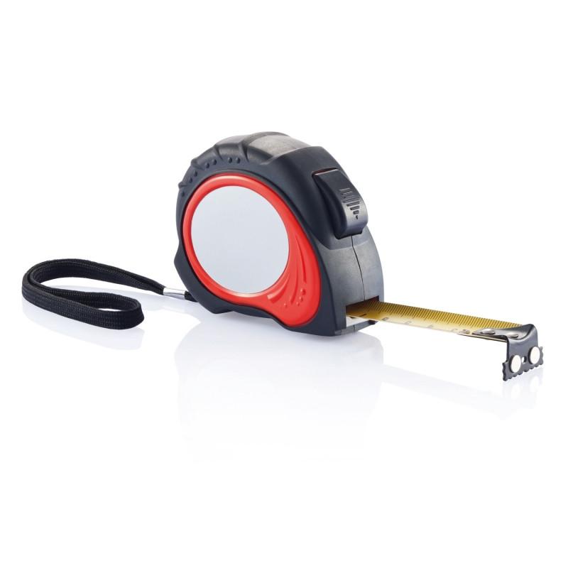Рулетка Tool Pro, 5 м, красный; черный, Длина 8 см., ширина 7 см., высота 3 см., P113.554