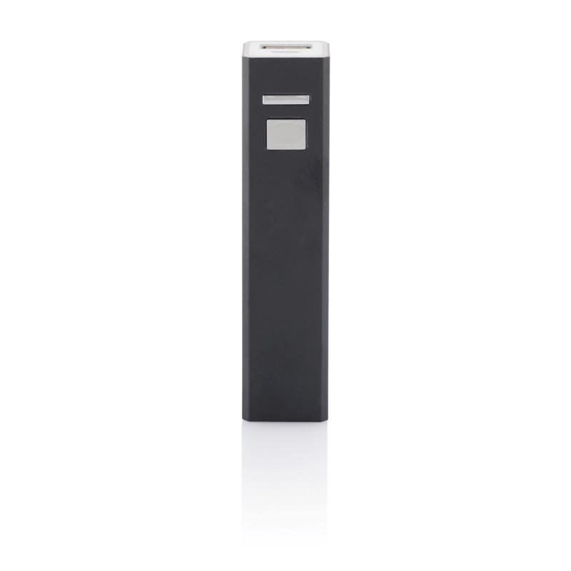 Универсальное зарядное устройство 2200 mAh, черный, черный, Длина 9,5 см., ширина 2,2 см., высота 2,2 см.,