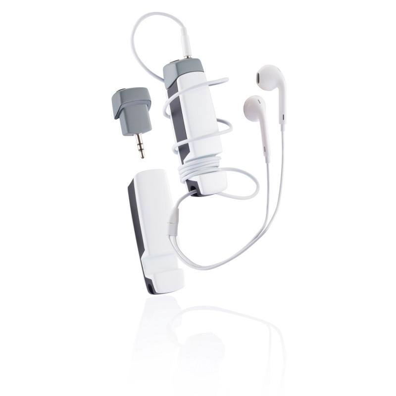 Многофункциональное аудиоустройство Jam 4 в 1, белый, Длина 1,8 см., ширина 2,2 см., высота 8 см., P326.263