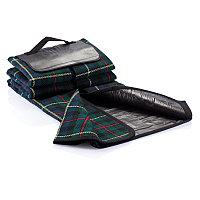 Плед для пикника Tartan , черный, черный, Длина 33,5 см., ширина 6 см., высота 19,5 см., P459.610