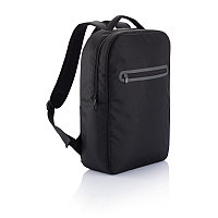 Рюкзак для ноутбука London, черный, Длина 11 см., ширина 30 см., высота 42 см., P705.031