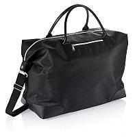Дорожная сумка, черный, Длина 46 см., ширина 42,5 см., высота 20 см., P707.001