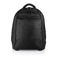 Рюкзак на колесах Executive, черный, черный, Длина 22 см., ширина 34 см., высота 44 см., P728.031