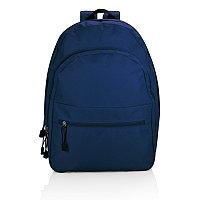 Рюкзак Basic, темно-синий, темно-синий, Длина 43,9 см., ширина 34 см., высота 14,8 см., P760.205